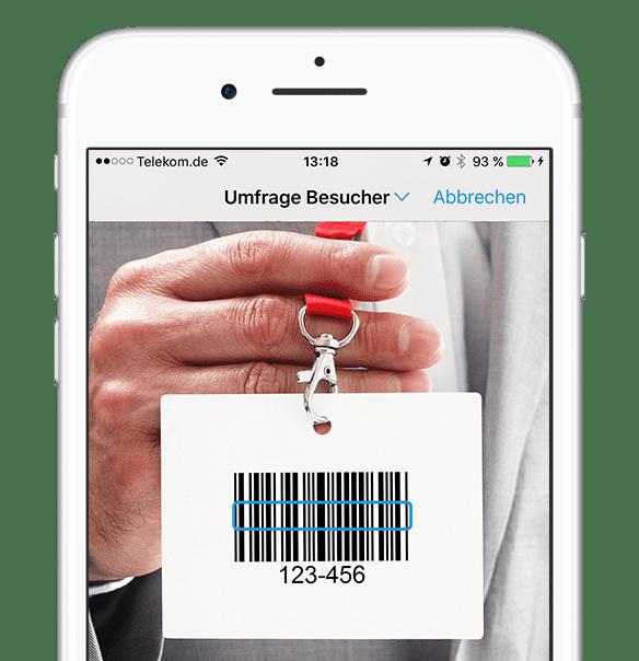 LeadLog iPhone Barcode Scanner