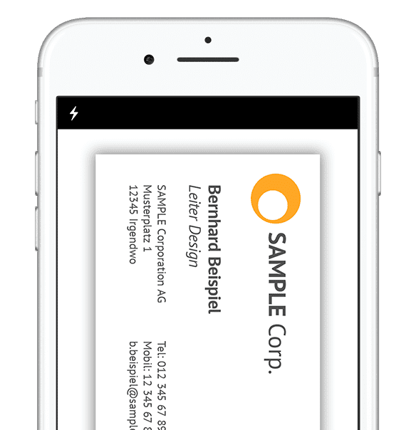 LeadLog iPhone OCR Scanner